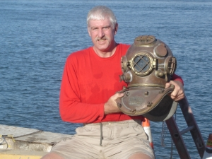 Bill Hubbard - deep sea diver, runner, biker, skier