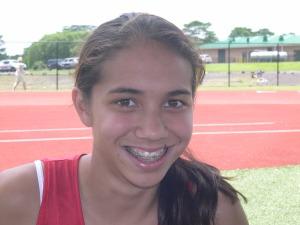 Randi Estrada - 400 meter dash