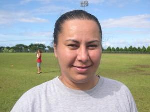 Keaau Athlete Director Iris McGuire