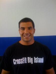 Firefighter, Joel Tesser, open Crossfit in Hilo