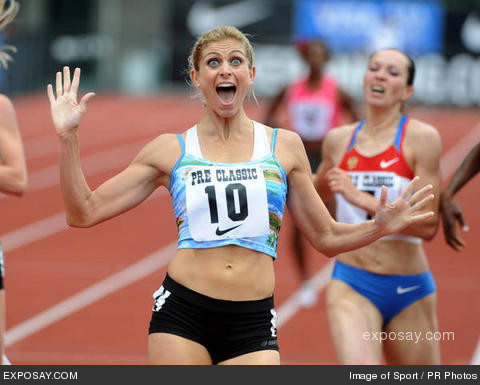 USA's Maggie Vessey is ranked number one in the world
