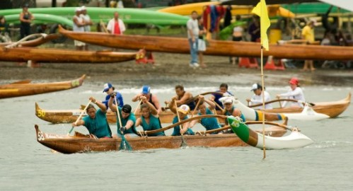 Keauhou Novice women do well - photo by Baron Sekiya