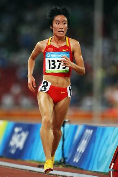 China's Bai Xue win the marathon at the World Championships in Berlin