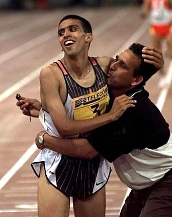 El Guerrouj set the mile world record in 1999