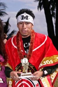 Three time champion, Germain Ortiz