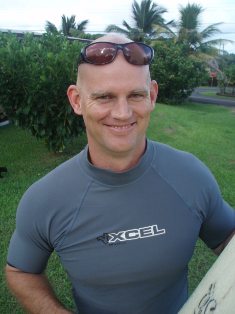 Police Capt and Surfer, James O'Conner