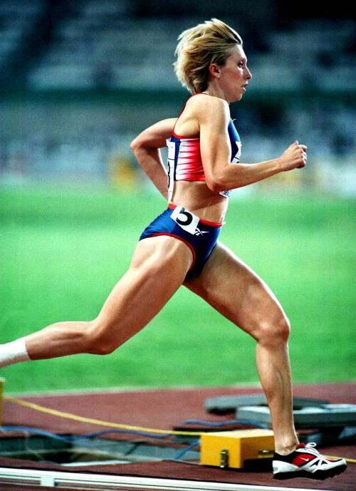 Russia's Masterkova owns the world record in the mile