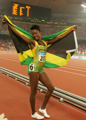 Melanie Walker, Jamaica, ranks as the #1 performance