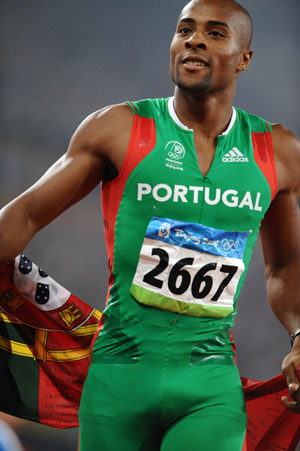 Portugal's Nelson Evora wins a Silver Medal at Berlin World Championships