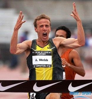 Alan Webb owns the high school mile record