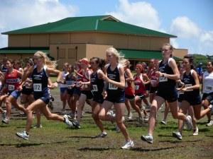 Girls Varsity start at Kamehameha