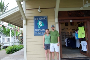 Jason & Maelissa Braswell in front of their new Kailua-Kona store