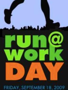 Sept. 18 is National Run @ Work Day