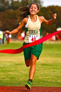 Honokaa's Tia Greenwell win Kealakehe Meet