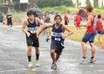 Waiakea boys handoff at CLA