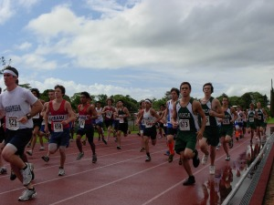 BIIF boys race at Waiakea