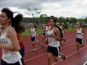 Kamehameha plays hots to major Cross-Country Invitational