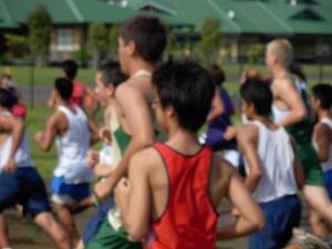 Boys Open Race