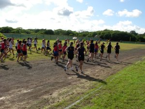 Start of girl's open at Kamehameha