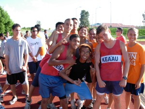 Cougar runners at recent fun run