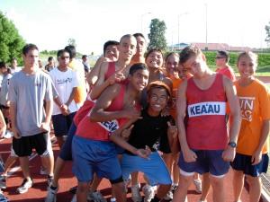 Cougar runners at recent fun run