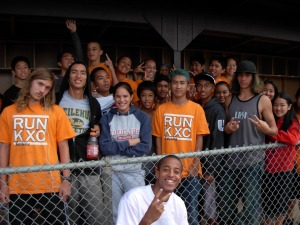 Members of the Keaau cross-country team will host fun run/walk