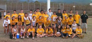Mililani cross country team