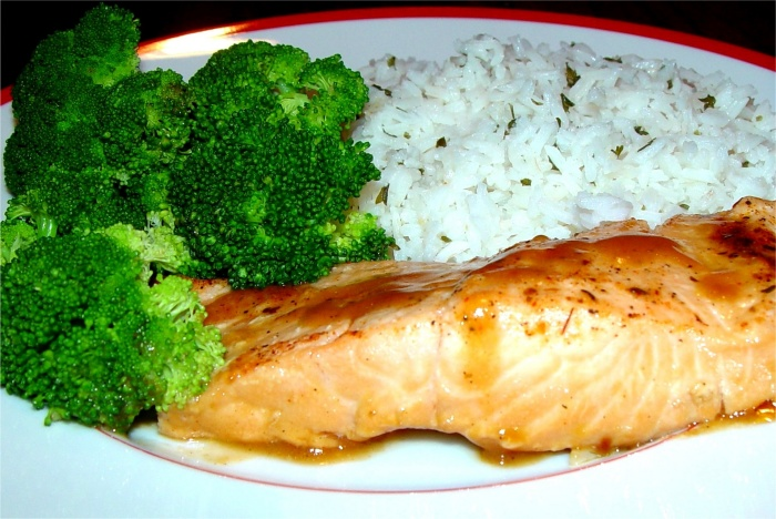 Tips on planning and eating healthy meals wayne joseph s for Healthy fish dinner
