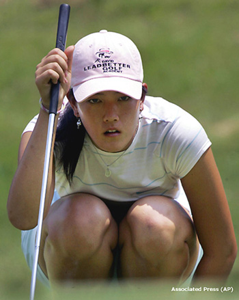 Michelle Wie just one shot off the lead going into final round in ...