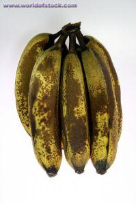 over ripe banana